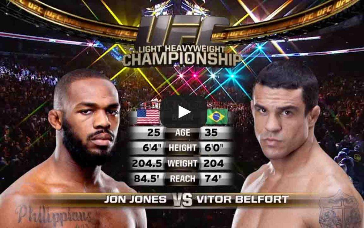 belfort vs jones