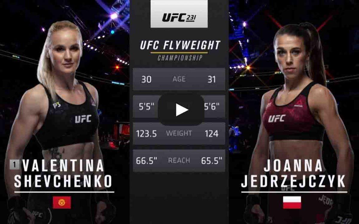 shevchenko vs joanna
